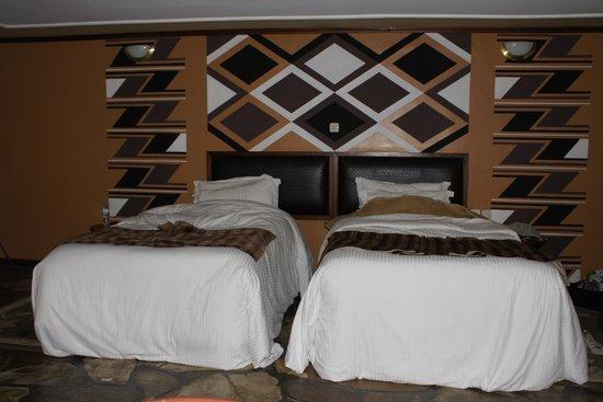 Mountain Gorilla View Lodge: Sleeping area