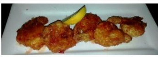Chicanes Restaurant & Bar : Typhoon Shrimp