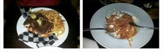 Chicanes Restaurant & Bar : Steak & Pasta Entrees