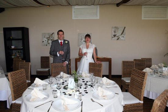 Don Pedro Sorrento: Beautiful table and decorations at our wedding 23.6.14