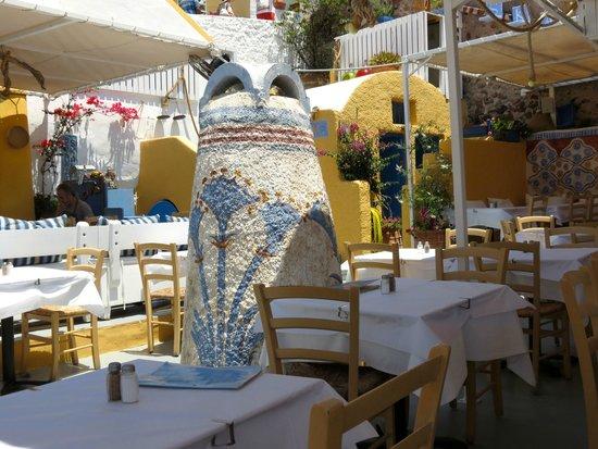 Skala Restaurant: Interior restaurant