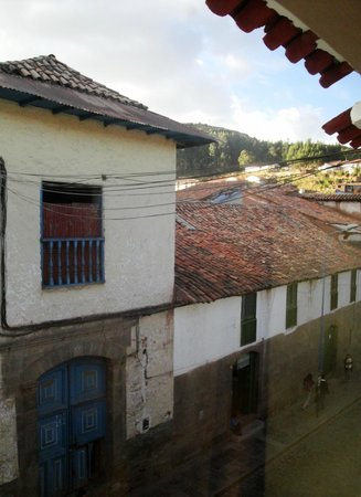 Dragonfly Hostels Cusco: view from girls dorm