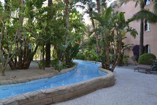 Playacalida Spa Hotel: Rio rapido, para disfrutar con los pequeños