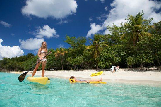 Virgin Island Eco Tours - Honeymoon Beach Day Pass