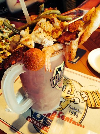 The Original Crabcake Factory: Bloody Mary