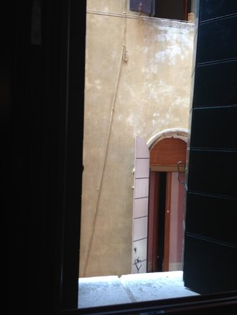 Pensione Guerrato: View out of the window