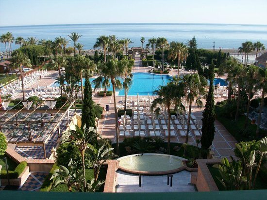 Iberostar Malaga Playa: View from the balcony
