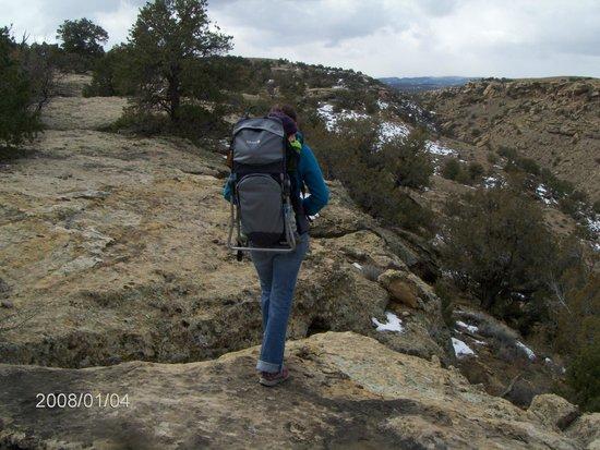 Grand Junction, CO: rachel back-packin' eddie