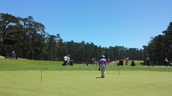 Poppy Hills Golf Course: Putting Green and Range.  James Endo