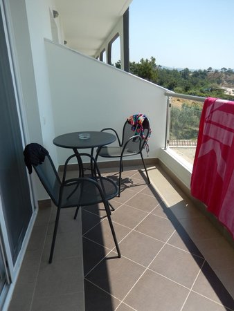 Hotel Blue Dream Palace: Unser Balkon