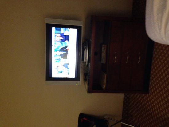 Hilton Garden Inn Colorado Springs Airport: Tv