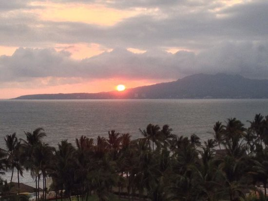 Grand Velas Riviera Nayarit : Sunset from our room