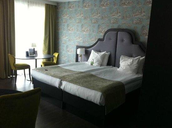 Thon Hotel Bristol Stephanie : Bed