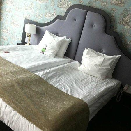 Thon Hotel Bristol Stephanie: Bed