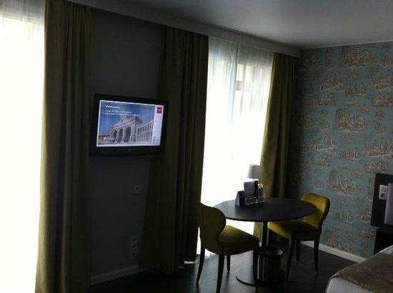 Thon Hotel Bristol Stephanie: Zithoek