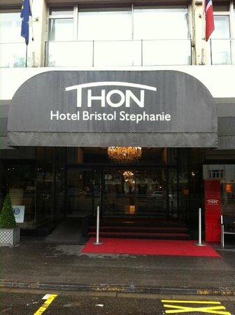 Thon Hotel Bristol Stephanie : Ingang