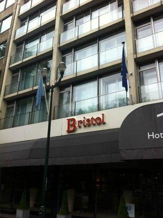 Thon Hotel Bristol Stephanie : Onze kamer boven 'Bristol'