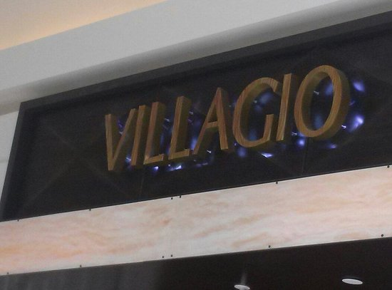 Villagio: The entrance