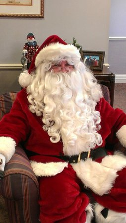 Breezes Resort & Spa Bahamas: Santa on Vacation at Breezes Bahamas