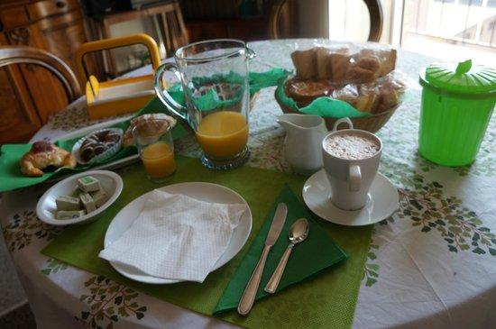 A Casa di Giallo: 早餐