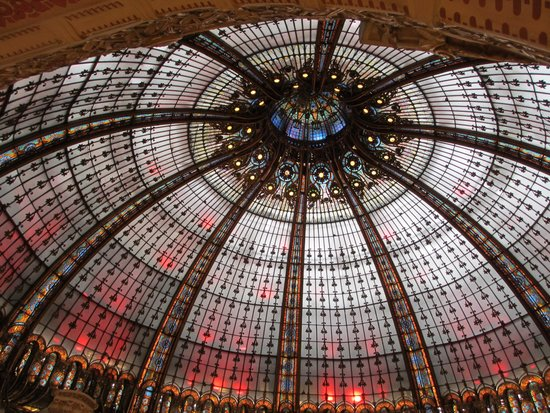 Galeries Lafayette : The ceiling