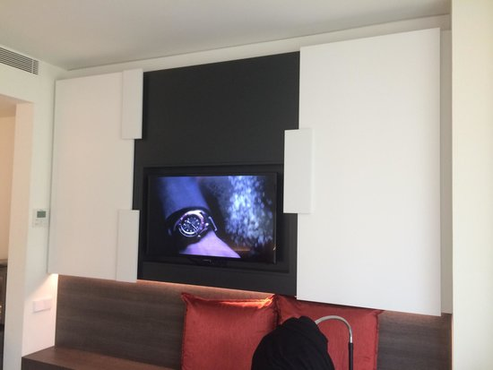 Hotel Olivia Balmes: Hide away TV