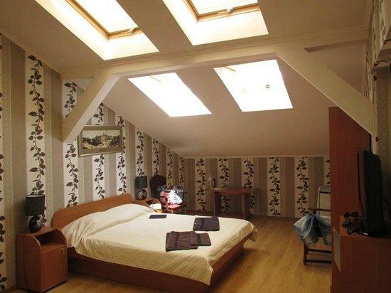Plazma Hotel: окна на потолке - жарко и протекают