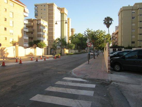 Hotel Mainare Playa Fuengirola: Strasse