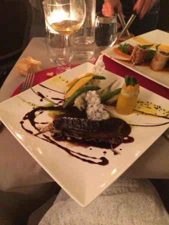 Restaurant La Voute : Le magret excellent