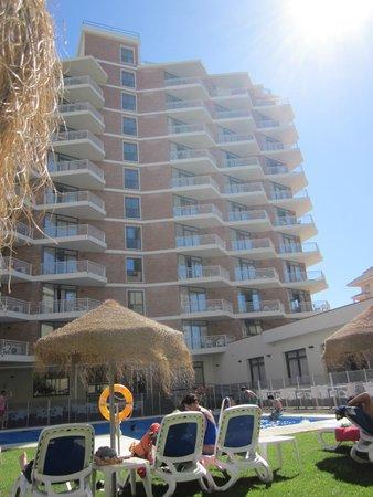 Hotel Mainare Playa Fuengirola: Sicht vom Pool
