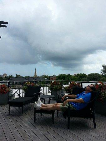Ansonborough Inn: Resting Rooftop