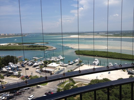 Ponce de Leon Lighthouse: View from the top of lighthouse