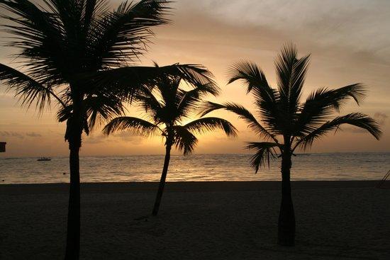 Secrets Royal Beach Punta Cana: Early morning beach view