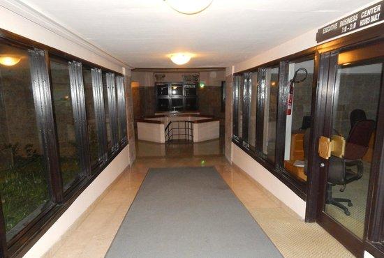 Hilton Addis Ababa : un des couloir