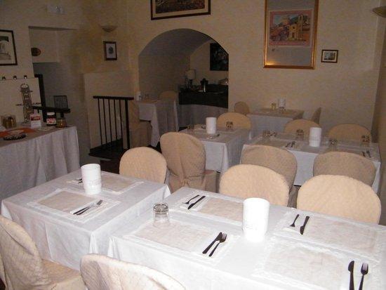Hotel Gattapone: Sala prima colazione