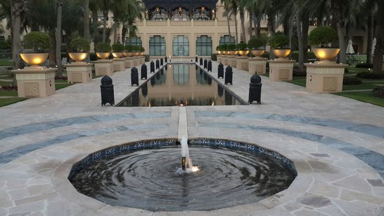 The Palace at One&Only Royal Mirage Dubai: View from beach