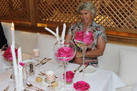 Posthotel Achenkirch: Abendessen zum Geburtstag