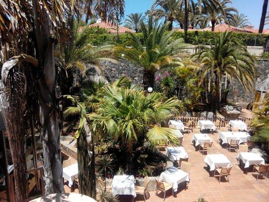 IFA Catarina Hotel: restaurrant exterieur