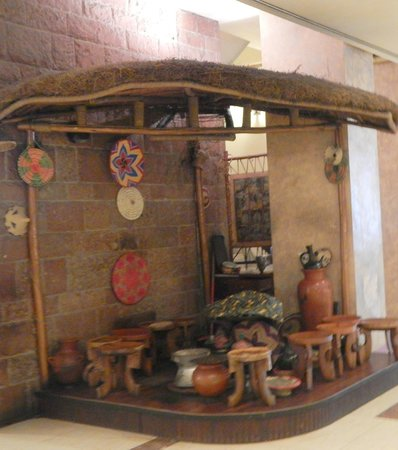 Hilton Addis Ababa : petit salon de café traditionnel