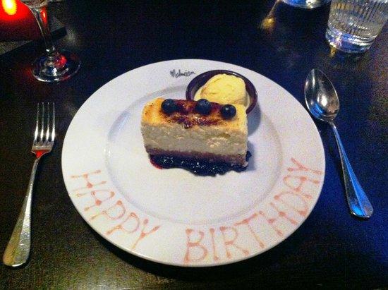 Malmaison Reading: Happy birthday!