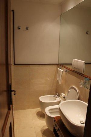 Al Colonnato di San Pietro Bed and Breakfast: Our private Bathroom