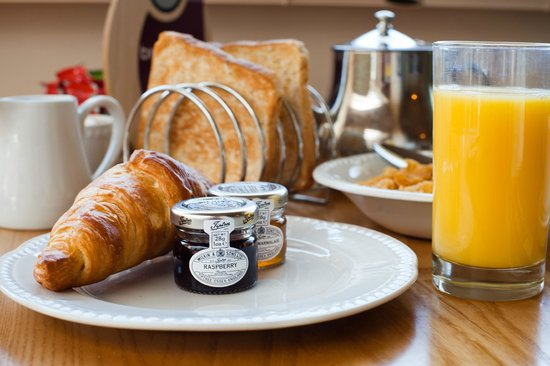 Best Western The Dartmouth Hotel Golf & Spa: Locally Sourced Breakfast