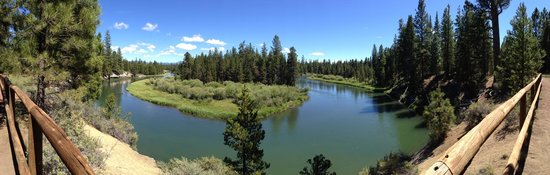 La Pine State Park: The view from the McGregor view point