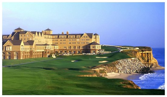 The Ritz-Carlton, Half Moon Bay: View from the 18th Tee
