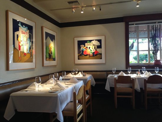 Rio Grill: Seating