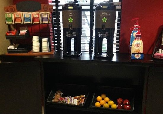 "Extended Stay America - Orange County - Katella Ave.: The ""grab and go"" breakfast."