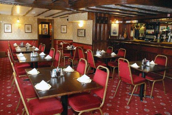 Old Ship Inn: the ships dining room
