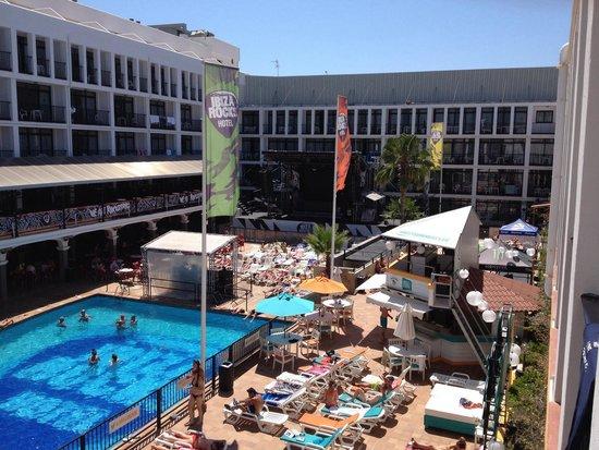 Ibiza Rocks Hotel: View from studio 323
