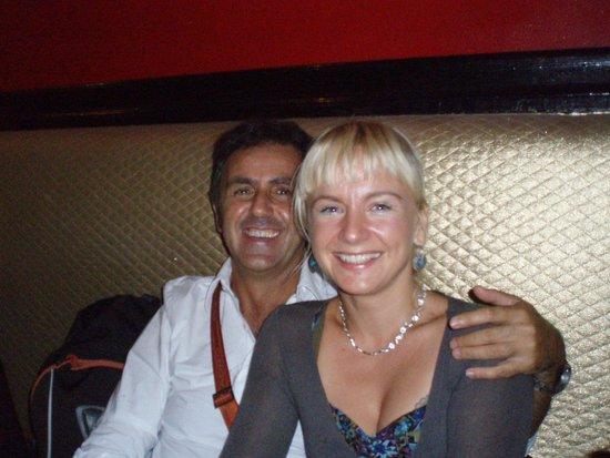El Vino Hotel & Suites : Jola and Maurizio