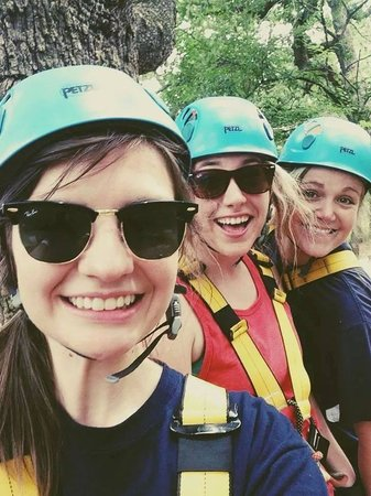 Trinity Forest Adventure Park : Girls day out!